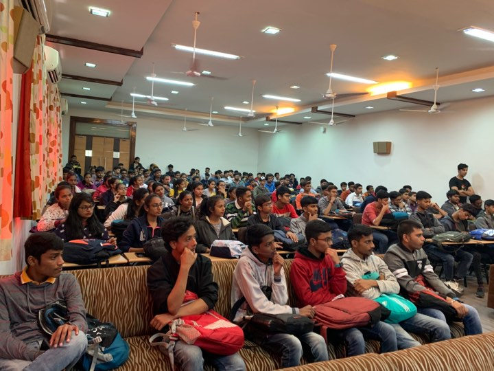 Expert Session at Parul University